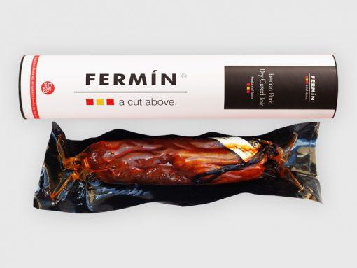Iberian pork dry-cured loin