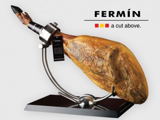 Fermin bone-in acorn-fed Iberico pork ham